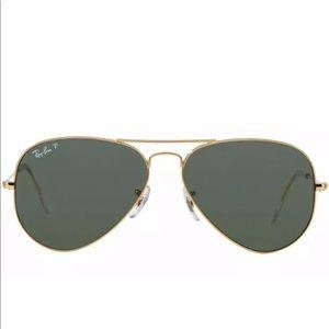 RB3025 001/58 Gold Frame /Green POLARIZED 58mm